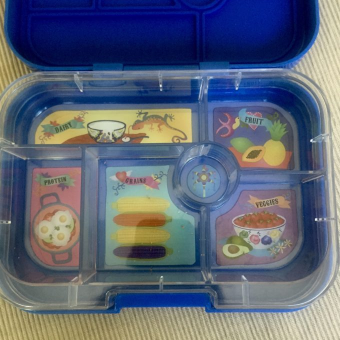 yumbox classic lunch box review blue