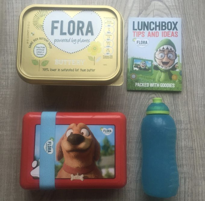 flora healthy lunchbox challenge
