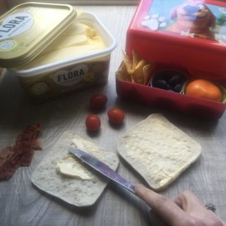 healthy lunchbox challenge with flora