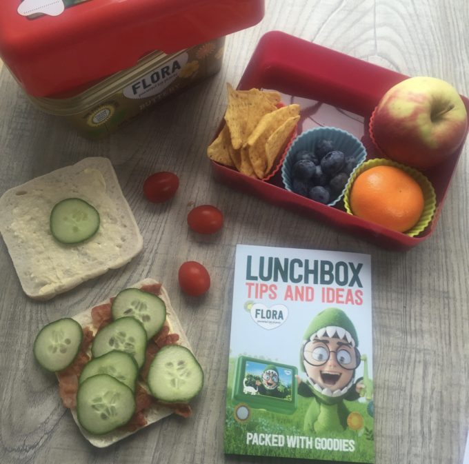 healthy lunchbox challenge bacon sandwich thin