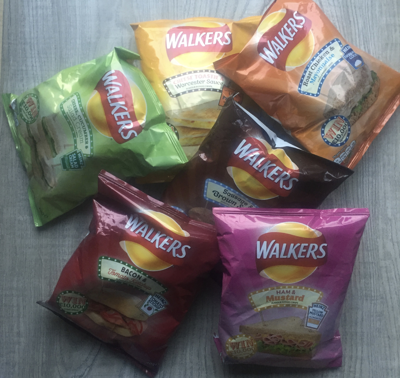 Walkers Crisps Sandwich Flavours Http://lunchboxworld.co.uk