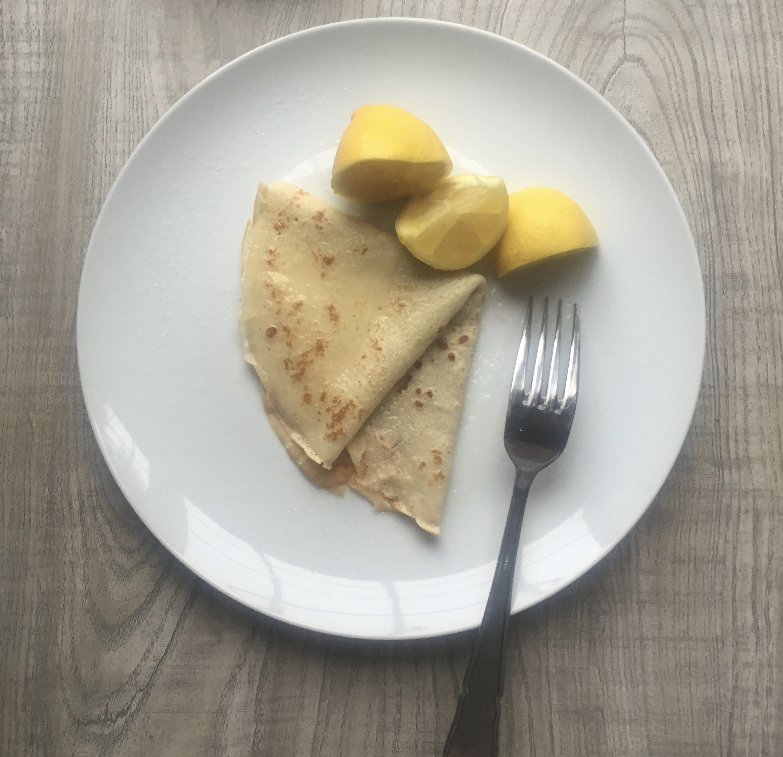 student recipe pancakes Lunchbox World