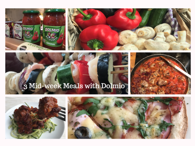 3 mid week meals with Dolmio by Lunchbox World