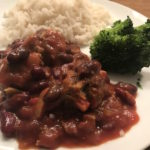 mid-week meals with Dolmio chilli con carne meatballs with rice broccoli Lunchbox World
