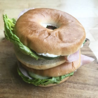 packed lunch for teenagers bagel idea Lunchbox World