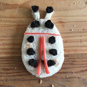 easy lunch idea ladybird