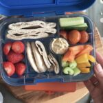colouful lunchbox idea in colours of rainbow