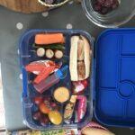 healthy lunch box idea full of mini items